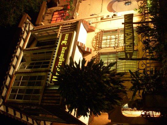 Hemingway Inn from the outside