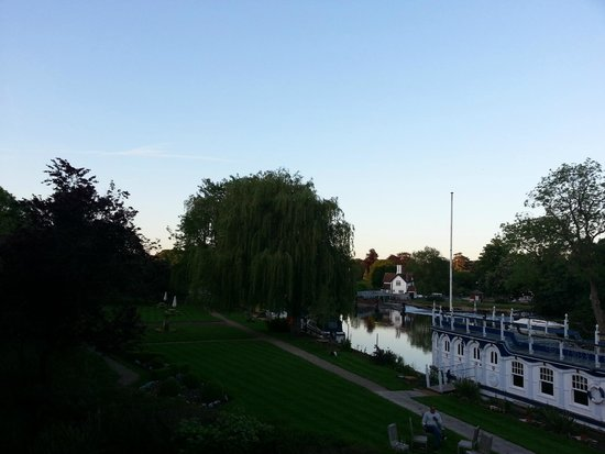 The Swan at Streatley: View