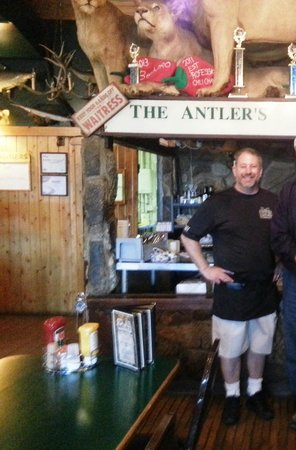 The Antlers Restaurant: The Owner