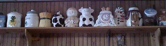 PJ's Rainbow Cafe: cookie jars for sale