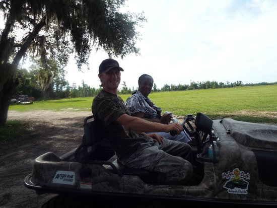 Revolution Off Road: My mom and the tour guide
