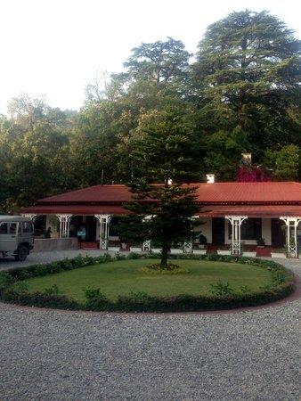 The Claridges Nabha Residence, Mussoorie: The entrance