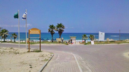 Palmachim Beach: Спокойствие и море