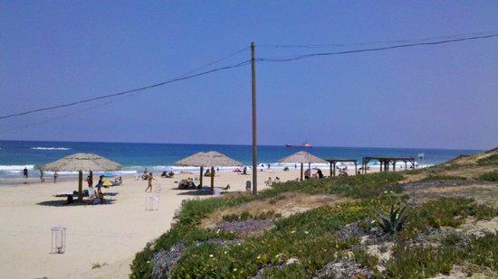 Palmachim Beach: Нежный песок