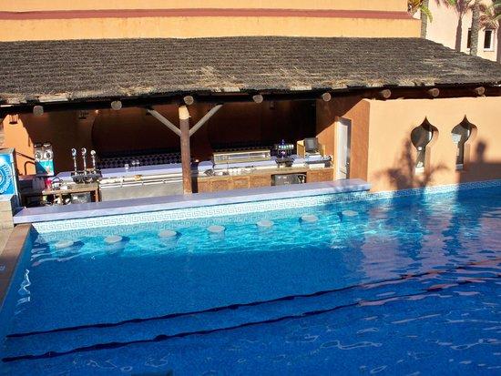 Playacalida Spa Hotel: Pool Bar