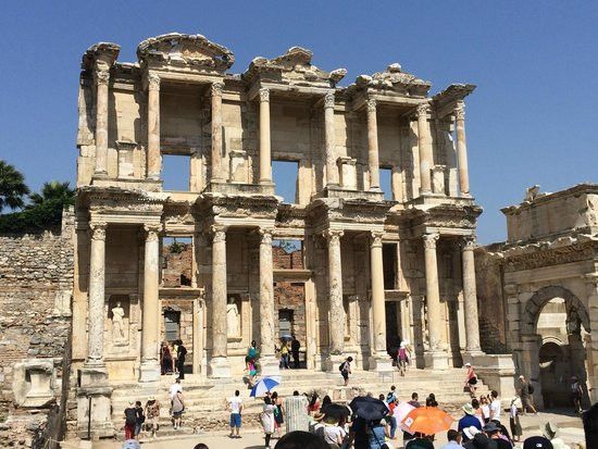 Ephesus Library - Picture of Kusadasi Private Ephesus ...