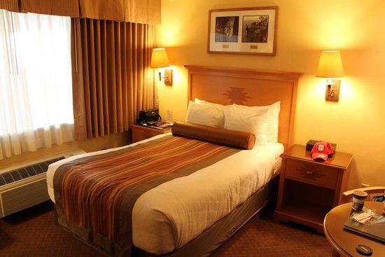 Best Western Premier Grand Canyon Squire Inn : Bettbreite 120cm