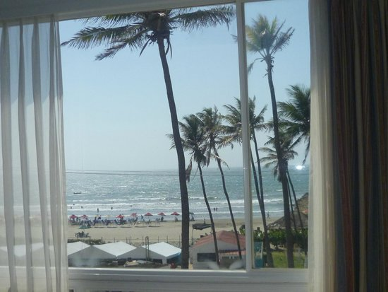 Hotel Caribe : From our room window