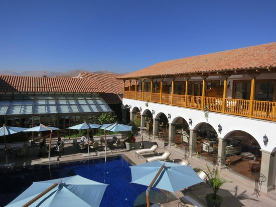 Belmond Palacio Nazarenas: a room with a view