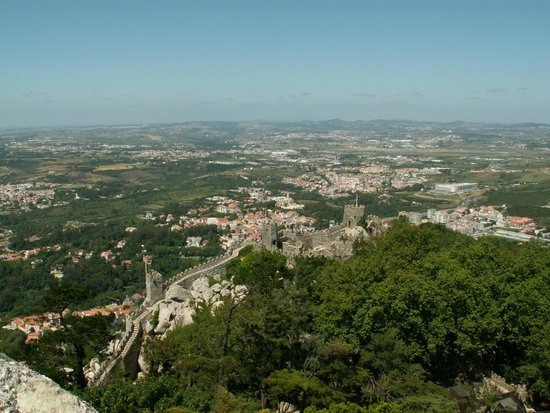 Castle of the Moors: Moors' Castle (Castelo dos Mouros) too