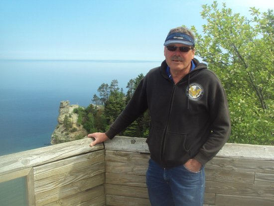 Miners Castle Rock: Great for pictures