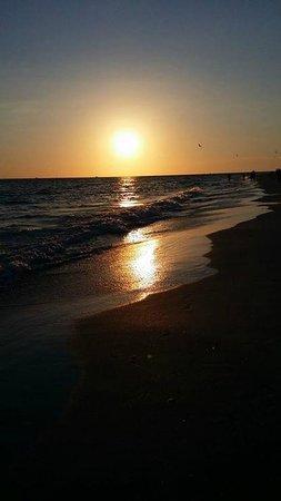 South Beach Condo/Hotel : Beach sunset