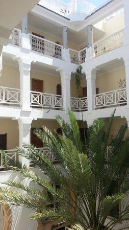 Riad Dar L'Oussia: Internal Riad courtyard