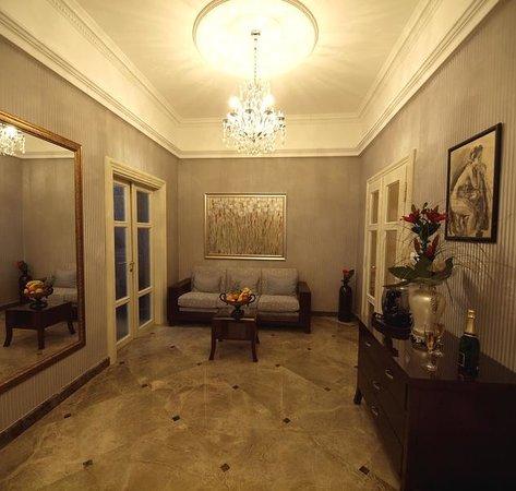 Almandine Apartments Hotel: Livingroom