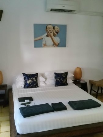 Rambutan Resort - Siem Reap: Rooms are simple and clean and not going to be used a lot. Go swim or see a temple!