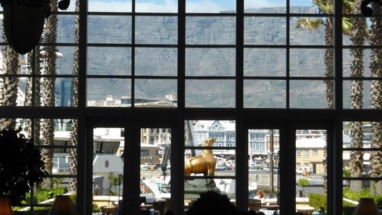 The Table Bay Hotel: Aussicht auf Tafelberg