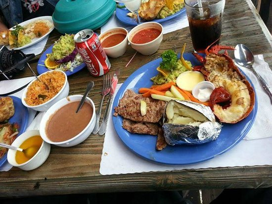 Villa Ortega's : Steak and Lobster