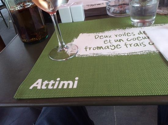 Attimi : empty table