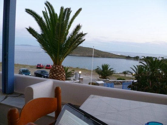 Porto Raphael Residences & Suites : Wonderful view from the terrace - perfect place to watch the sunset