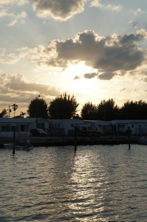 Tortuga Beach Resort: Vista pôr do sol