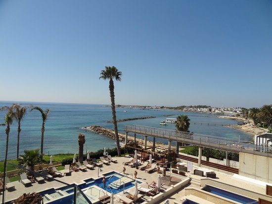Alexander The Great Beach Hotel: view from our room