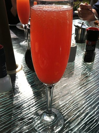 The Right Fork Diner: Blood Read Mimosa