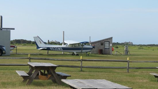 The Right Fork Diner: One of the planes near by.