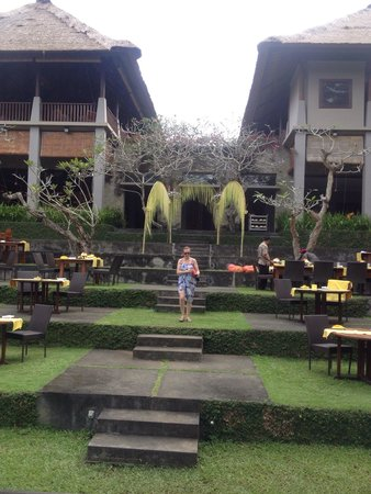 Maya Ubud Resort & Spa: Great place for dinner