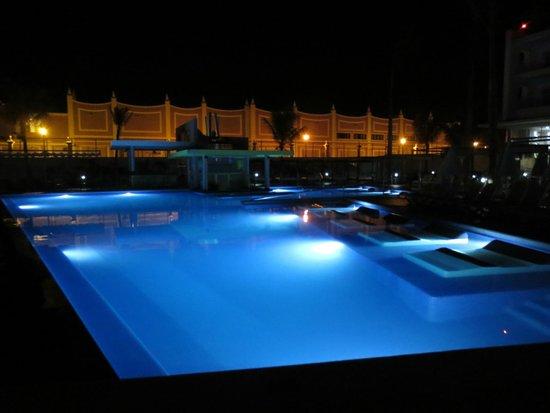 Hotel Riu Palace Jamaica : Pool below room with swim up bar