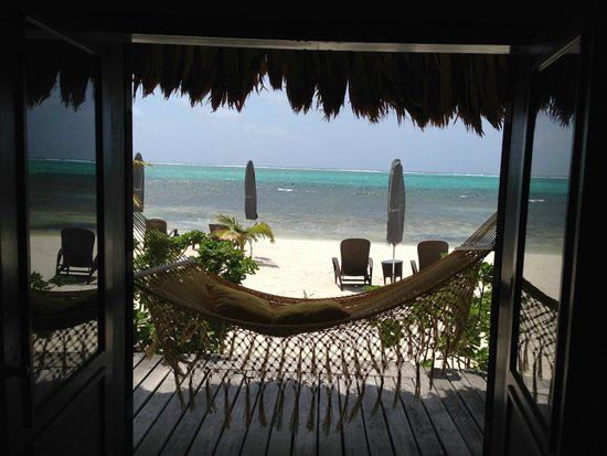 Matachica Resort & Spa: View from front porch