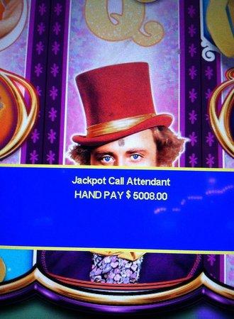 Sheraton Atlantic City Convention Center Hotel: I found the golden ticket