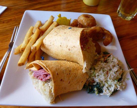 Wilno Tavern Restaurant: Wraps