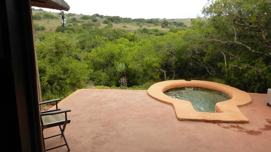 Amakhala Safari Lodge: Aussicht aus Nr 9