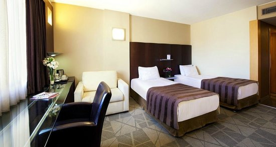 Point Hotel Taksim: Deluxe Room with Twin Bed