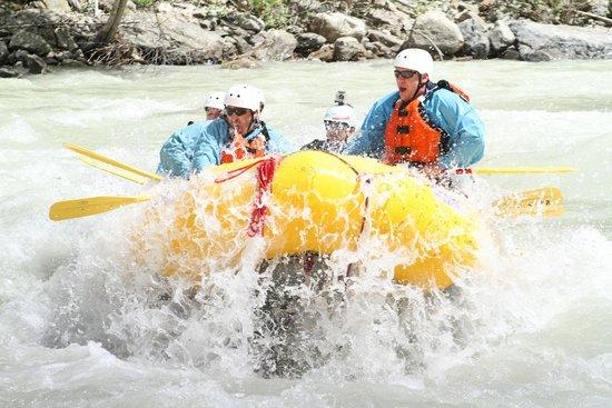 Glacier Raft Company - Day Tours: havin a blast