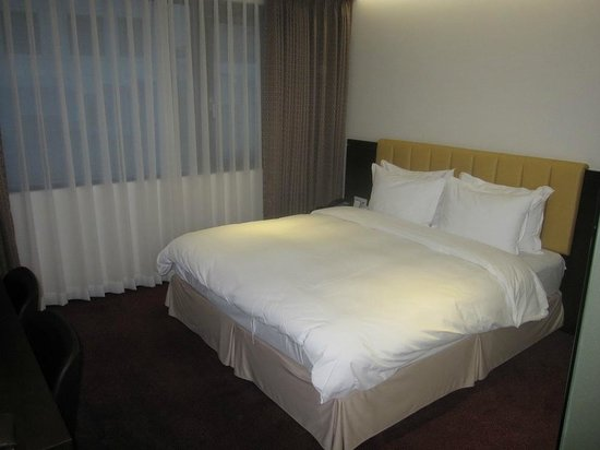 Hotel Aropa : The bed