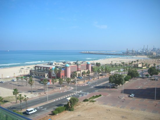 West Boutique Hotel Ashdod : View from room 905