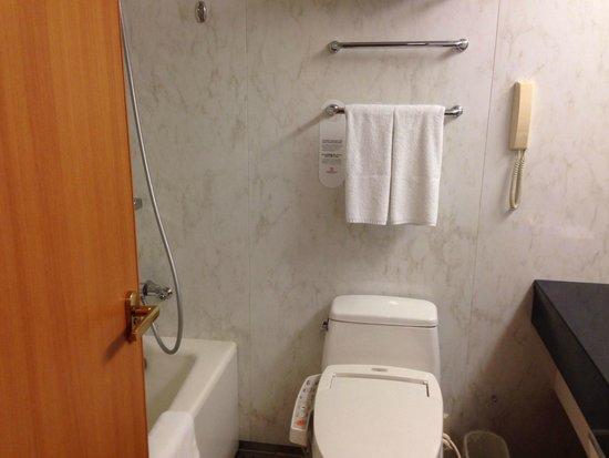 ANA Crowne Plaza Toyama: バスルーム