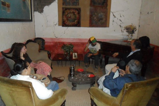 Vina Sanchez de Loria : A private tasting with the owner, Felipe Cruz Sanchez