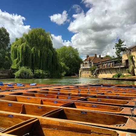 Scudamore's Punting Company: Parked up
