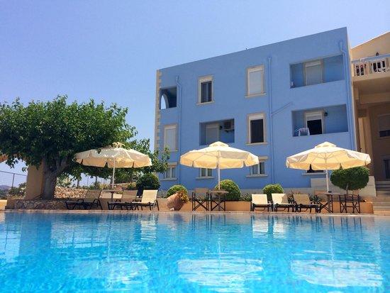 Giorgi's Blue Apartments : Apartmentansicht 2