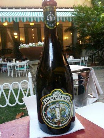 Quirinale Hotel : Fantastisk god øl i restauranten