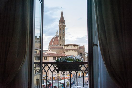 Bernini Palace Hotel : View from our room