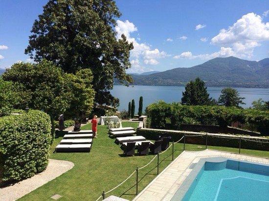 Hotel Villa Margherita : Seeblick