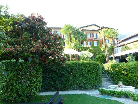 Hotel Villa Margherita : das Hotel vom Parkplatz