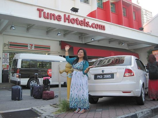 Tune Hotel George Town Penang : Depn hotel Tune Downtown Penang
