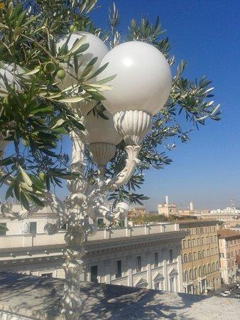Mecenate Palace : Терасса Отеля