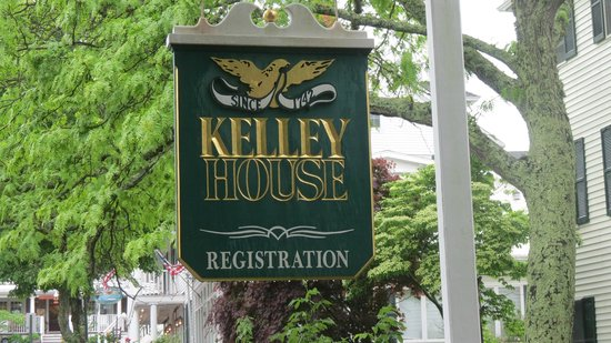 Kelley House: Sign