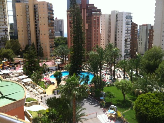 HOTEL PALM BEACH: from room 506