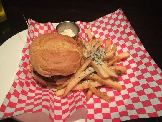 Hard Rock Cafe: Hamburger especial do dia!